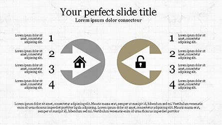 Stunning Presentation Template with Icons and Shapes, Slide 5, 04350, Presentation Templates — PoweredTemplate.com