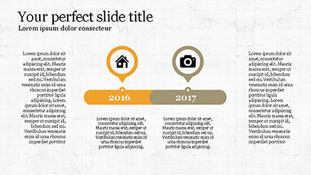 Stunning Presentation Template with Icons and Shapes, Slide 6, 04350, Presentation Templates — PoweredTemplate.com