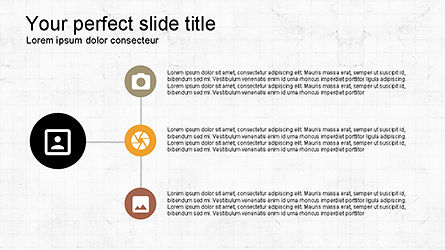 Roadmap with Icons and Shapes, Slide 4, 04352, Timelines & Calendars — PoweredTemplate.com