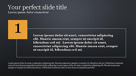 Numbered Text Boxes, Slide 9, 04353, Text Boxes — PoweredTemplate.com