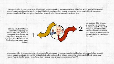Circles and Arrows, Slide 5, 04355, Organizational Charts — PoweredTemplate.com