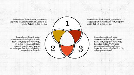 Circles and Arrows, Slide 6, 04355, Organizational Charts — PoweredTemplate.com