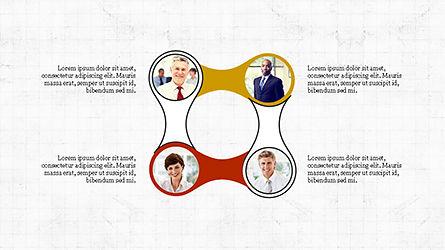 Circles and Arrows, Slide 8, 04355, Organizational Charts — PoweredTemplate.com