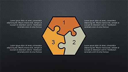 Numbered Shapes Slide Deck, Slide 10, 04356, Shapes — PoweredTemplate.com