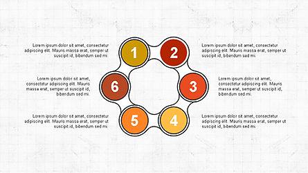 Numbered Shapes Slide Deck, Slide 5, 04356, Shapes — PoweredTemplate.com