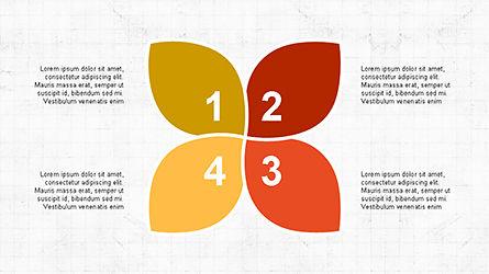 Numbered Shapes Slide Deck, Slide 6, 04356, Shapes — PoweredTemplate.com