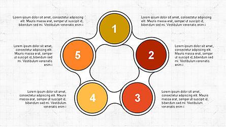 Numbered Shapes Slide Deck, Slide 8, 04356, Shapes — PoweredTemplate.com