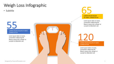 Infographics: Weight Loss Infographic #04364