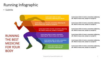 Infographics: Running - Wellness Infographic #04366