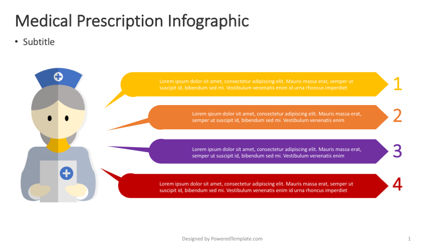 Infographics: Medical Prescription Infographic #04367