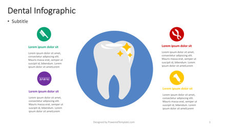Infographics: Dental Infographic #04379