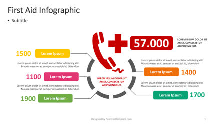 Infographics: First Aid Infographic #04386