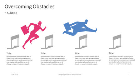 Infographics: Surmonter les obstacles #04404