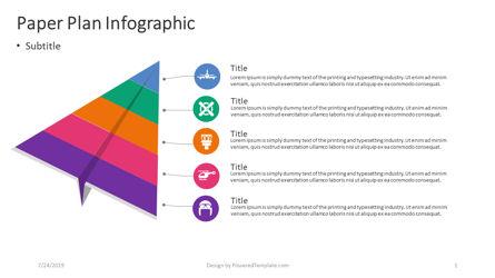 Infographics: 紙飛行機のインフォグラフィック #04405