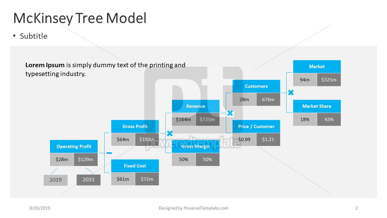 A Business Model Tree, Slide 2, 04411, Business Models — PoweredTemplate.com