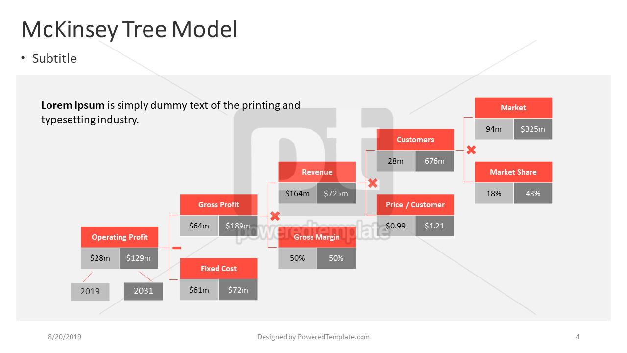 A Business Model Tree, Slide 4, 04411, Business Models — PoweredTemplate.com