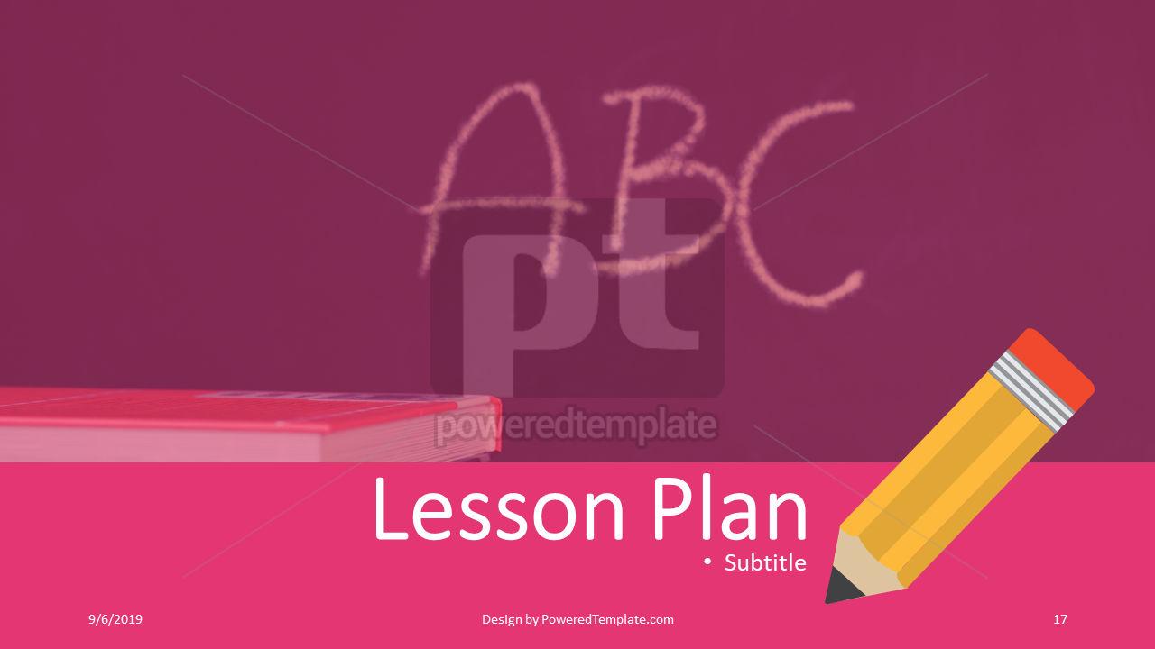 课程计划, 幻灯片 17, 04414, 教育图和图表 — PoweredTemplate.com