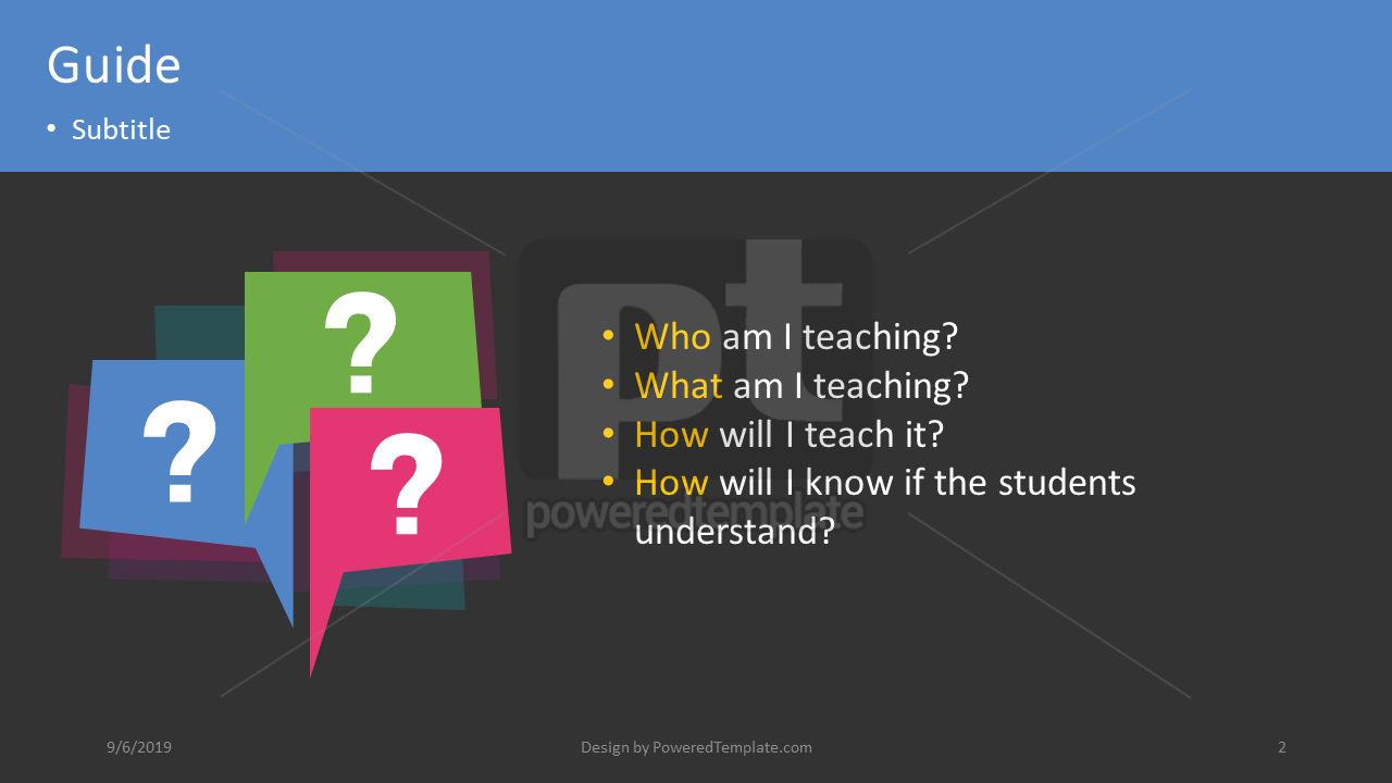 课程计划, 幻灯片 2, 04414, 教育图和图表 — PoweredTemplate.com