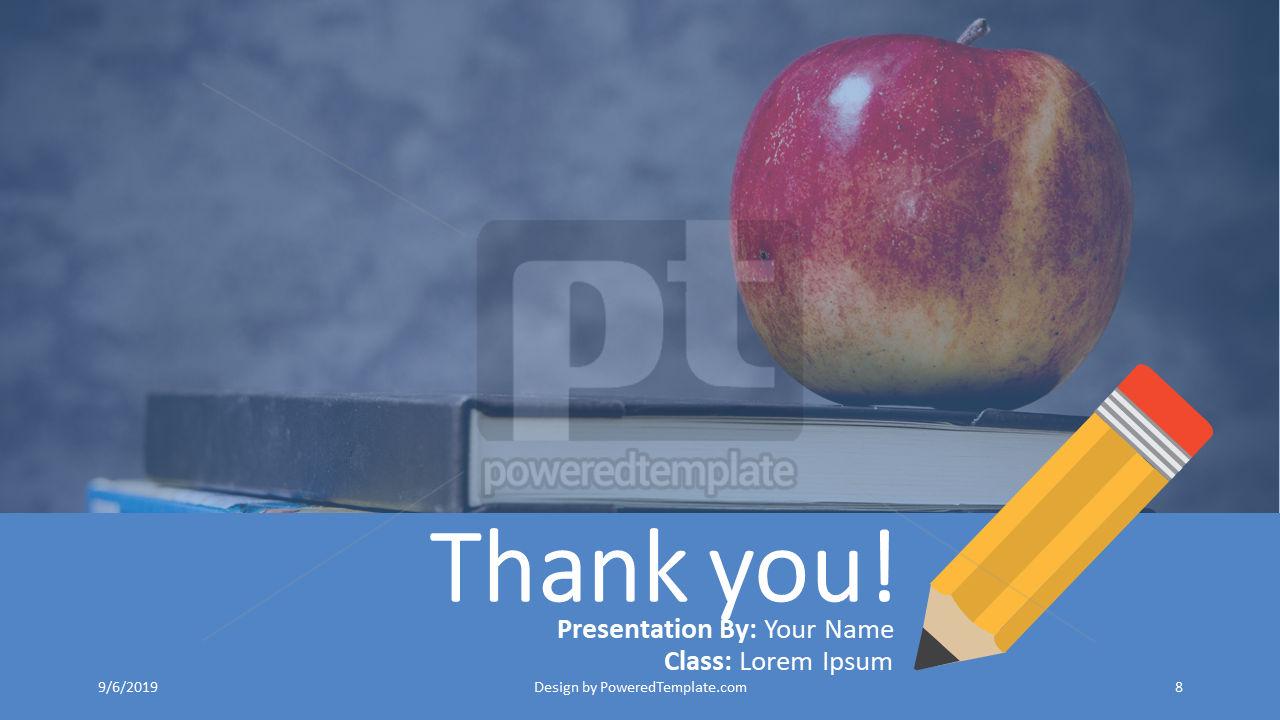 课程计划, 幻灯片 8, 04414, 教育图和图表 — PoweredTemplate.com