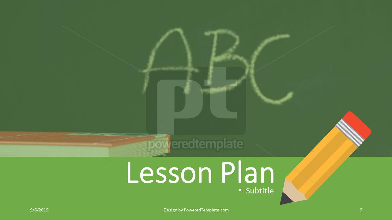 课程计划, 幻灯片 9, 04414, 教育图和图表 — PoweredTemplate.com