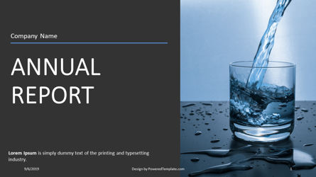Presentation Templates: Nonprofit Annual Report #04415