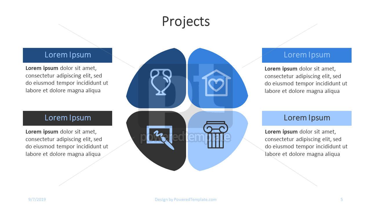 Nonprofit Art Project, Slide 5, 04417, Presentation Templates — PoweredTemplate.com