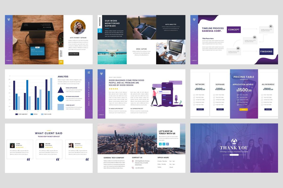 Business - Technology PowerPoint Template, Slide 5, 04419, Business Models — PoweredTemplate.com