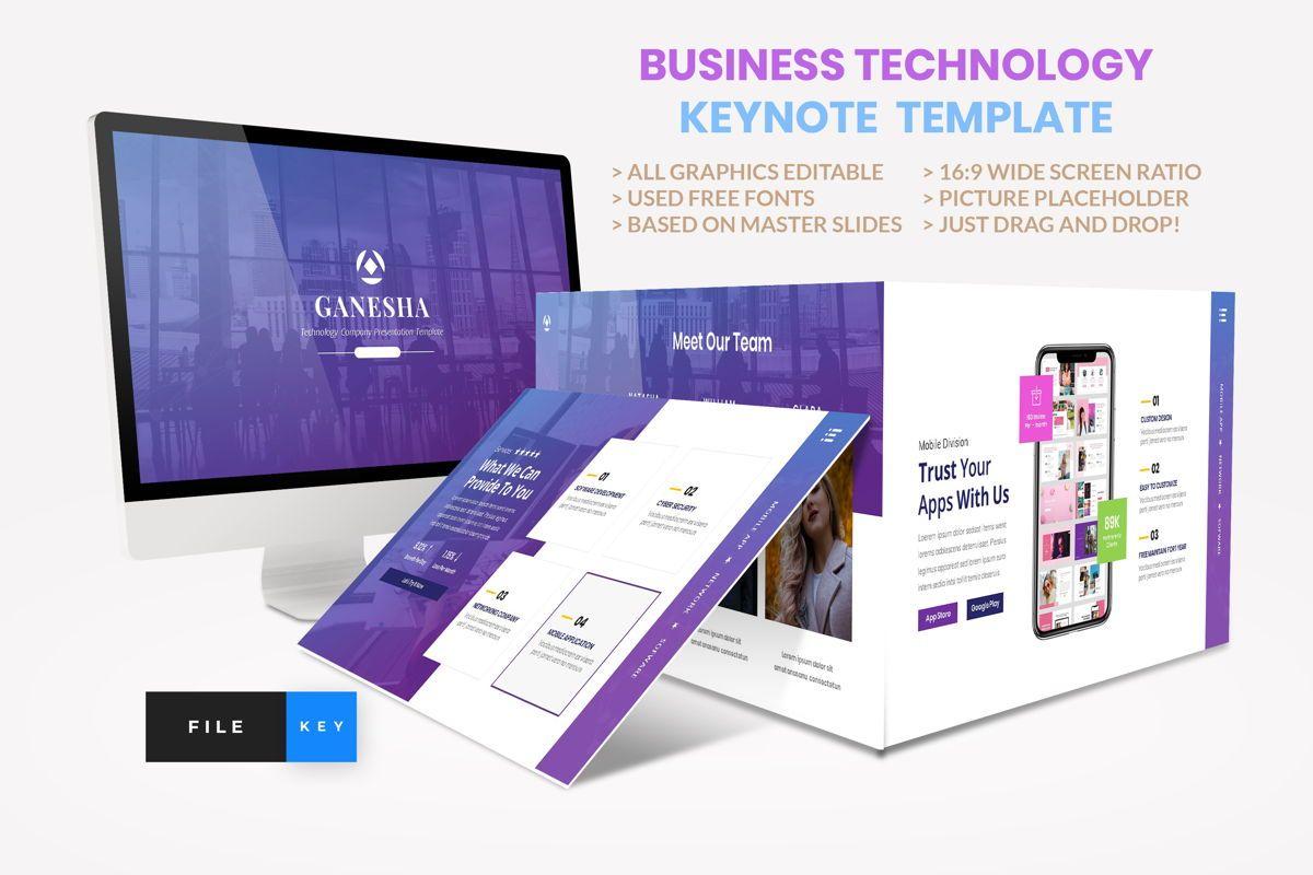 Business - Technology Keynote Template, 04420, Business Modelle — PoweredTemplate.com