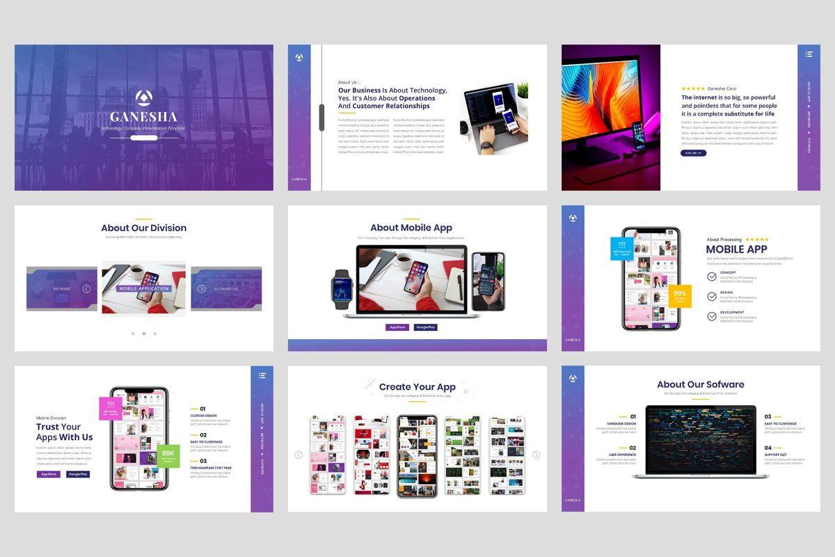 Business - Technology Google Slide Template, Slide 2, 04421, Business Models — PoweredTemplate.com