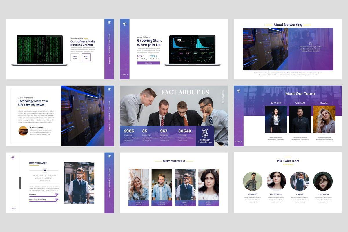 Business - Technology Google Slide Template, Slide 3, 04421, Business Models — PoweredTemplate.com