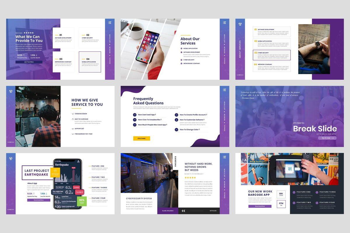 Business - Technology Google Slide Template, Slide 4, 04421, Business Models — PoweredTemplate.com