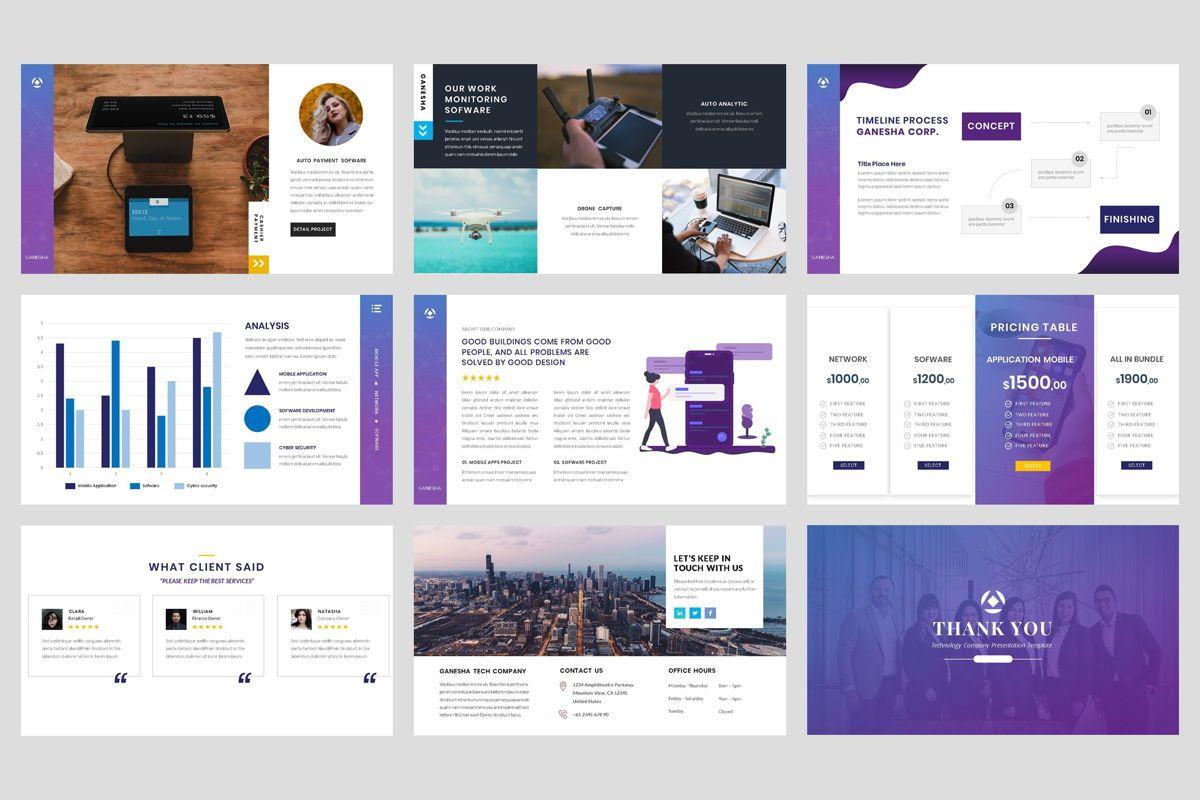 Business - Technology Google Slide Template, Slide 5, 04421, Business Models — PoweredTemplate.com