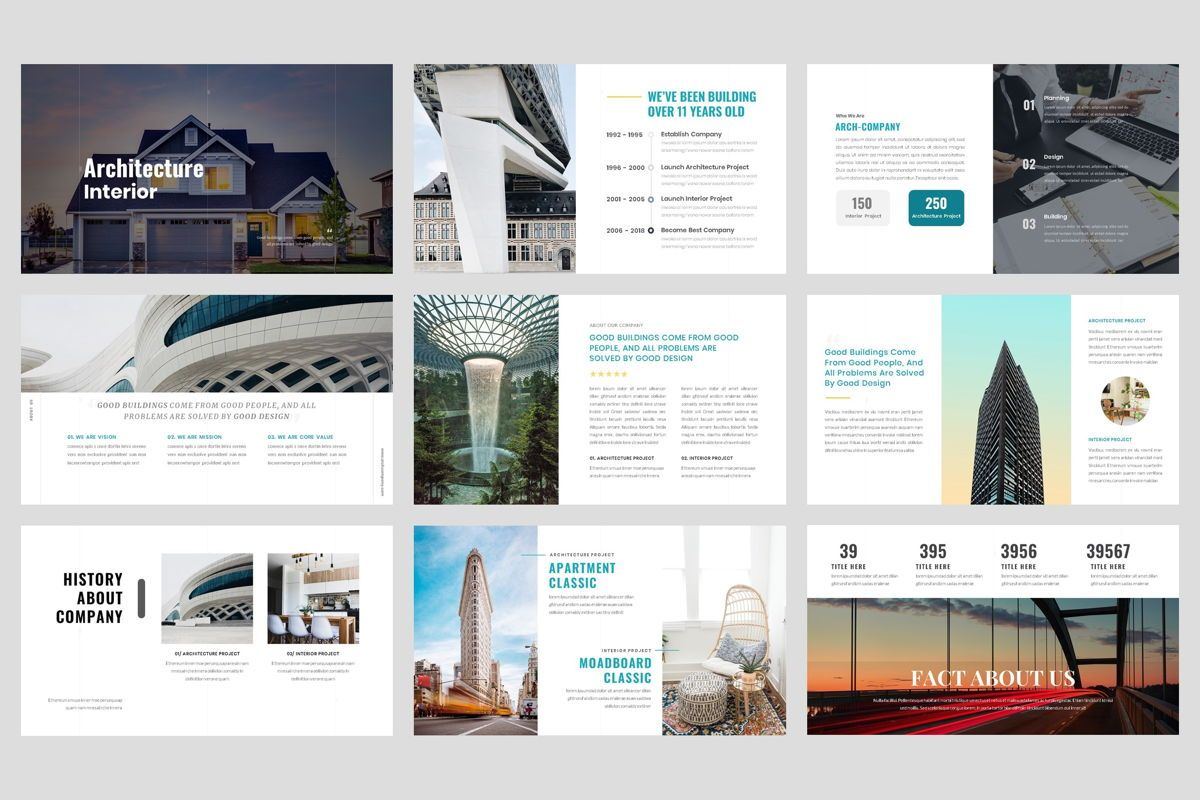 Architecture - Interior Keynote Template, Folie 2, 04435, Business Modelle — PoweredTemplate.com