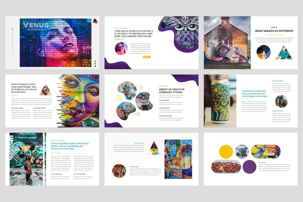 Pop Art - Creative PowerPoint Template, Slide 2, 04437, Business Models — PoweredTemplate.com