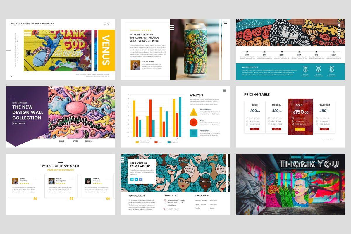 Pop Art - Creative Google Slide Template, Slide 5, 04439, Business Models — PoweredTemplate.com