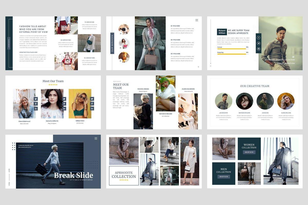 Bag - Fashion Keynote Template, Slide 3, 04441, Presentation Templates — PoweredTemplate.com