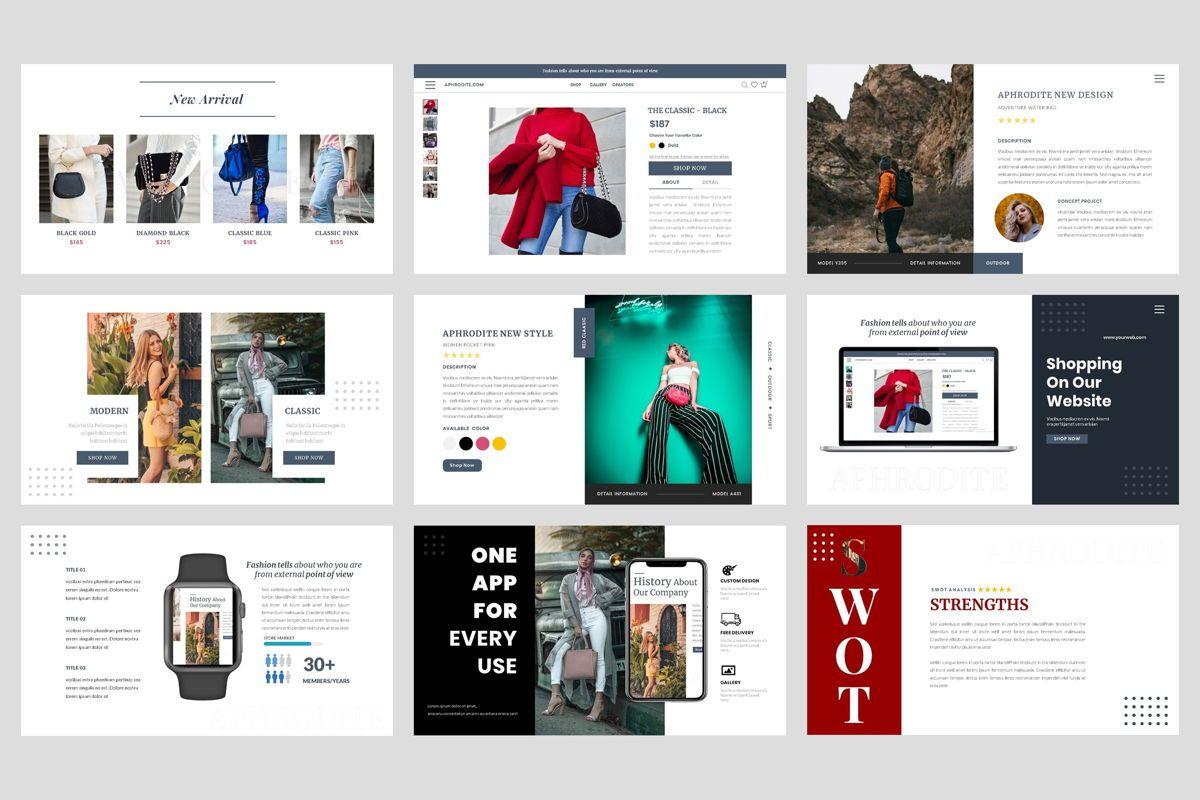 Bag - Fashion Keynote Template, Slide 4, 04441, Presentation Templates — PoweredTemplate.com