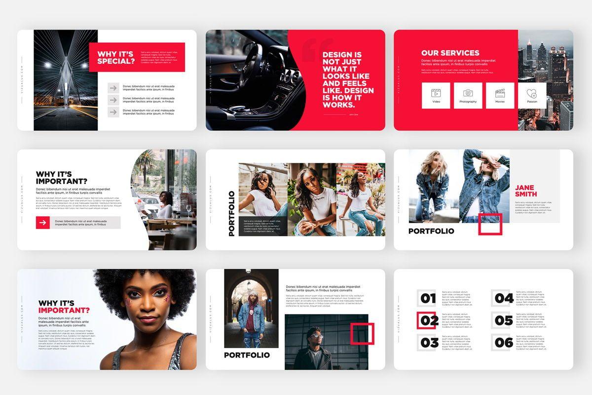 Monas PowerPoint Template Sleek Bold Presentation Design, Slide 4, 04468, Icons — PoweredTemplate.com