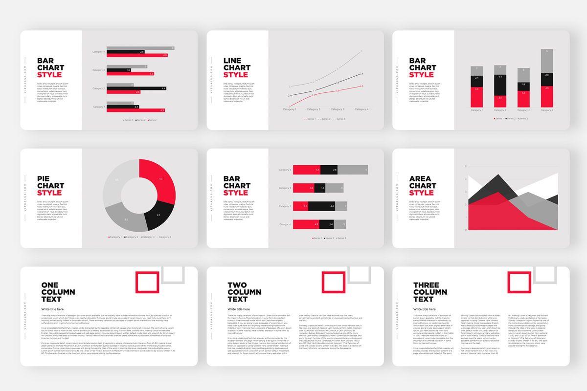 Monas PowerPoint Template Sleek Bold Presentation Design, Slide 6, 04468, Icons — PoweredTemplate.com