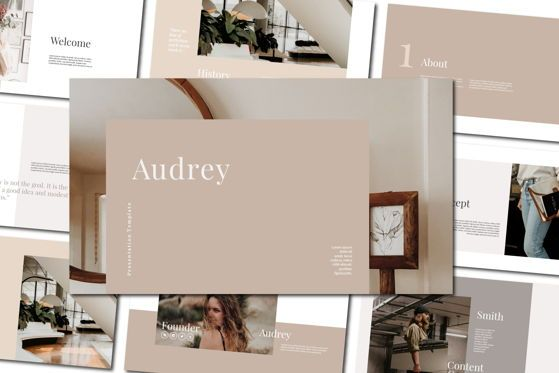 Presentation Templates: Audrey - PowerPoint Template #04472