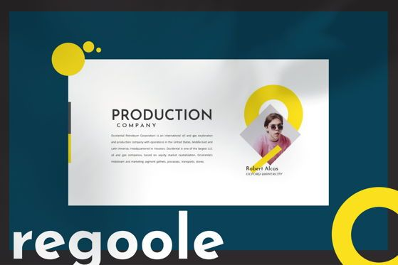 Presentation Templates: Regoole - PowerPoint Template #04478