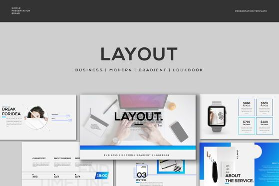 Presentation Templates: Layout - PowerPoint Template #04481