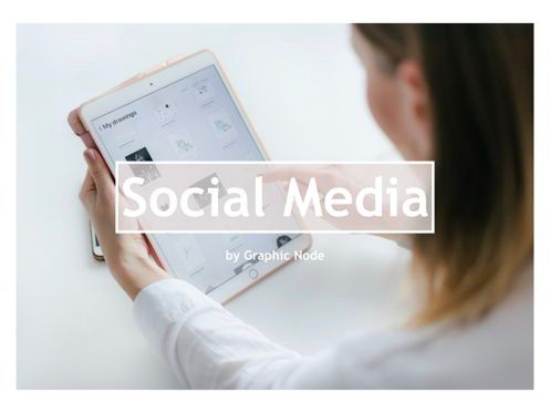 Presentation Templates: Social Media Plan Keynote Presentation Template #04511
