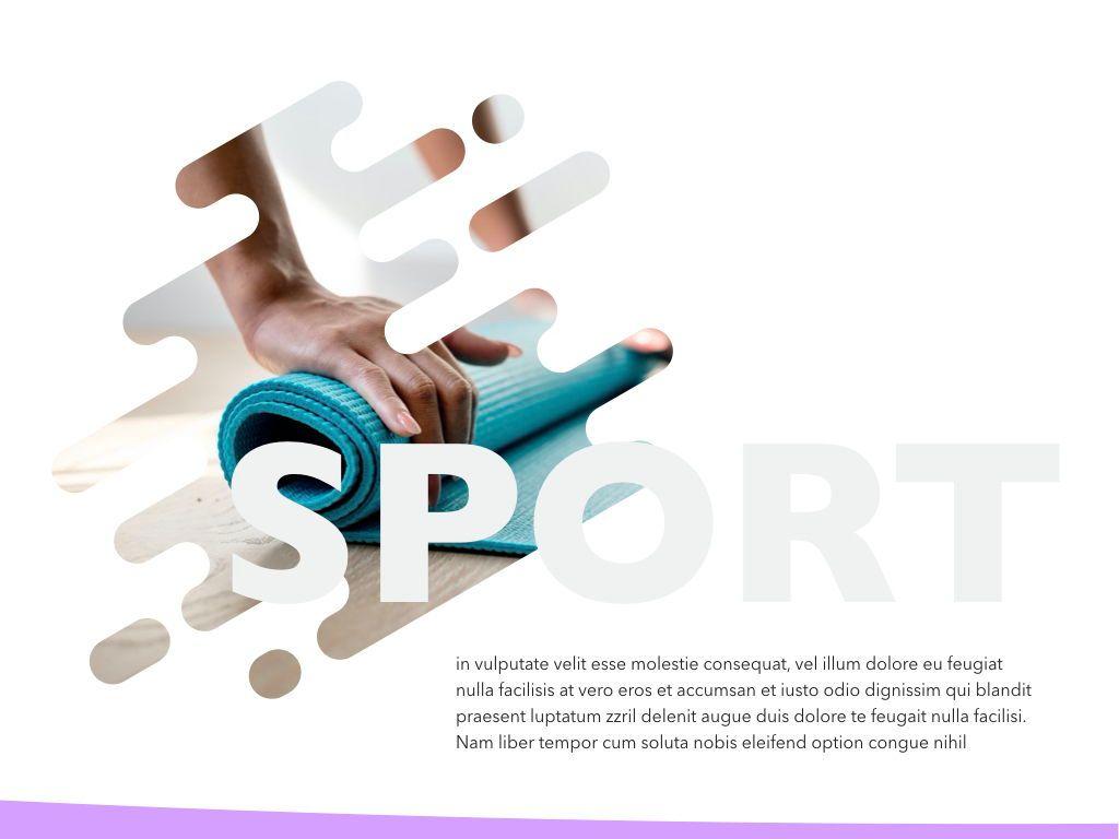 Sporty Keynote Presentation Template, Slide 2, 04513, Presentation Templates — PoweredTemplate.com