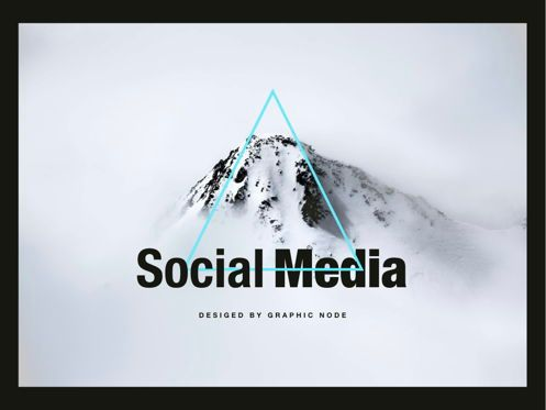 Presentation Templates: Top Social Keynote Presentation Template #04515