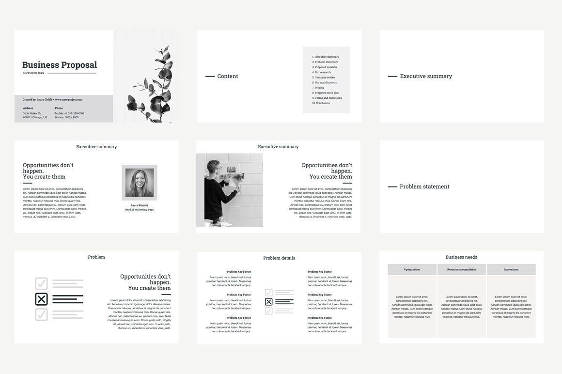 Business Proposal Keynote Template, Slide 2, 04520, Business Models — PoweredTemplate.com