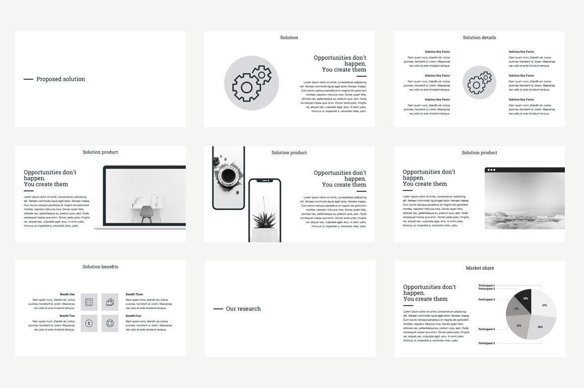 Business Proposal Keynote Template, Slide 3, 04520, Business Models — PoweredTemplate.com