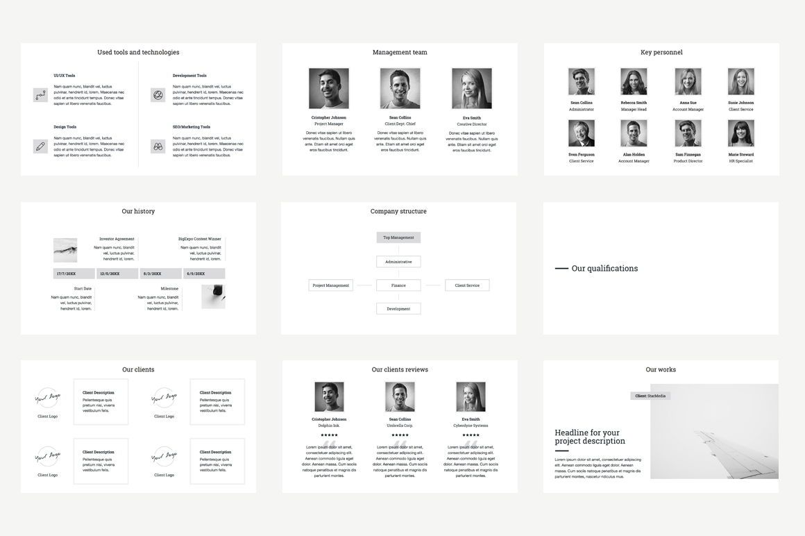 Business Proposal Keynote Template, Slide 5, 04520, Business Models — PoweredTemplate.com