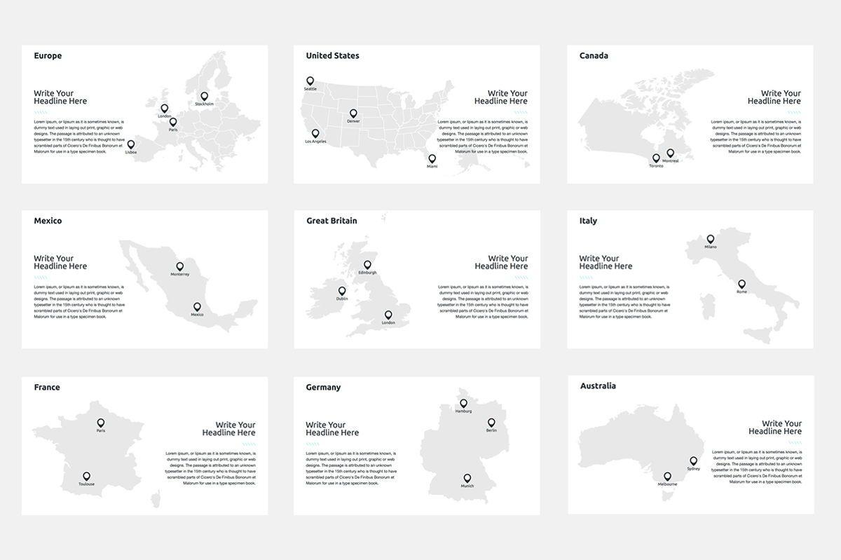 2020 Year Report PowerPoint Presentation Template, Slide 8, 04521, Infographics — PoweredTemplate.com