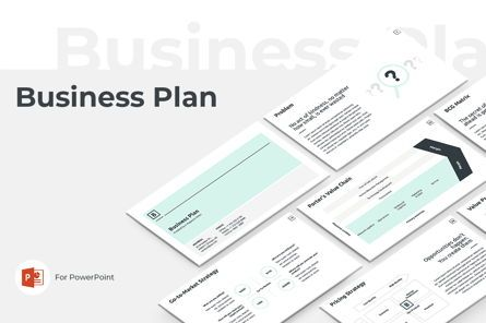 Business Models: Business Plan PowerPoint Presentation Template #04523